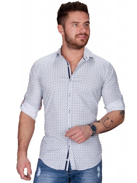 Koszula męska biała BB-97