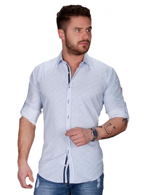 Koszula męska biała BB-98