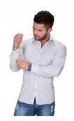 Koszula męska biała BB-99