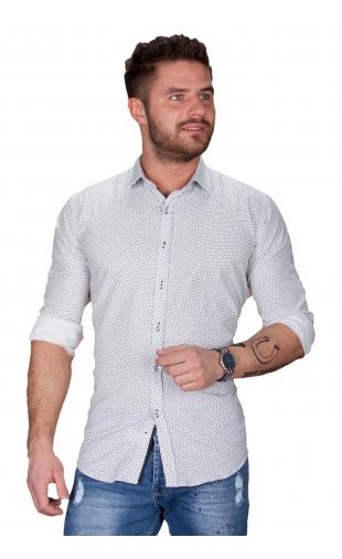 Koszula męska biała BB-99-1