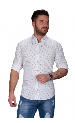 Koszula męska biała BB-96