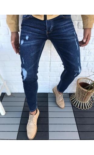 Spodnie Jeansowe denim 4