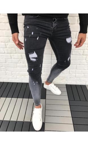 Spodnie Jeansowe denim 5