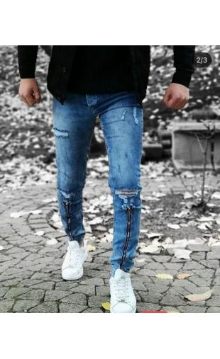 Spodnie Jeansowe denim 6-1
