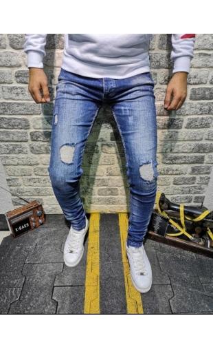 Spodnie Jeansowe denim 8