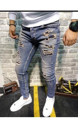 Spodnie Jeansowe denim 13