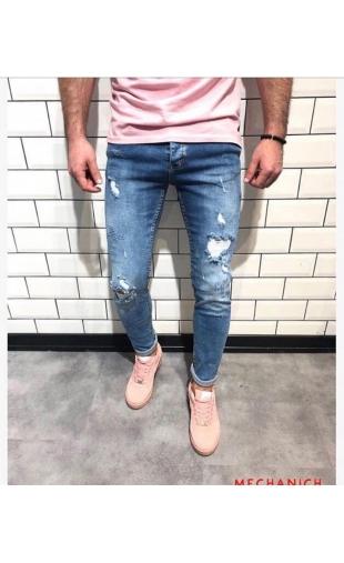 Spodnie Jeansowe denim 14