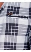Koszula w krate ze stójką 016?