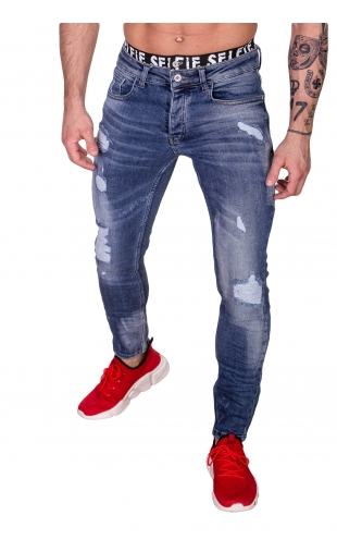 Spodnie Jeansowe rurki dł. 32 2461