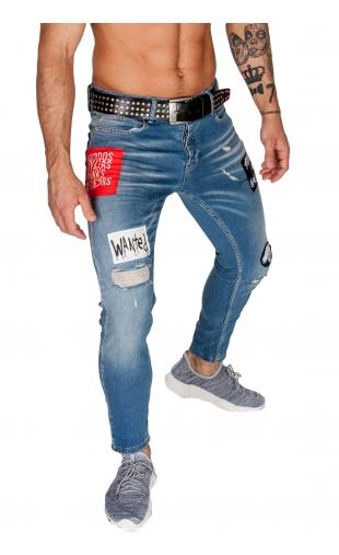 Spodnie Jeansowe denim 21