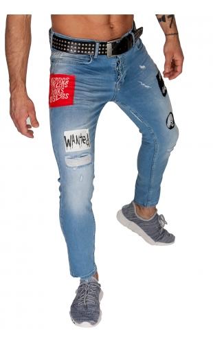 Spodnie Jeansowe denim 22