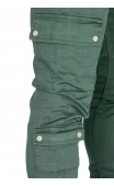 Spodnie joggery zielone dh-2674