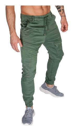 Spodnie joggery zielone house