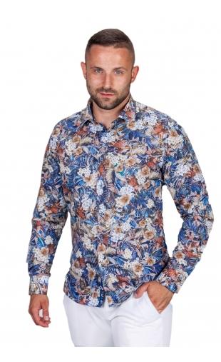 Koszula męska w kwiaty ESP-3