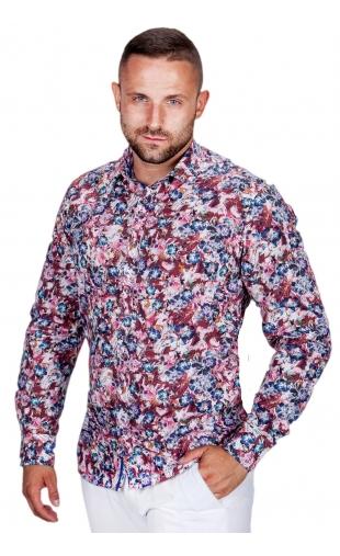 Koszula męska w kwiaty ESP-4