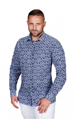 Koszula męska w kwiaty ESP-5