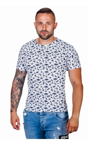 T-shirt męski wzór T-101