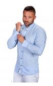 Koszula lniana błękitna St.Remo