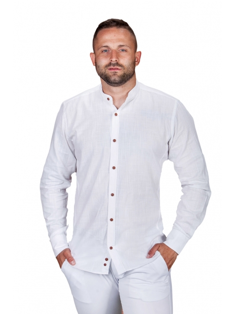 Koszula lniana biała St.Remo