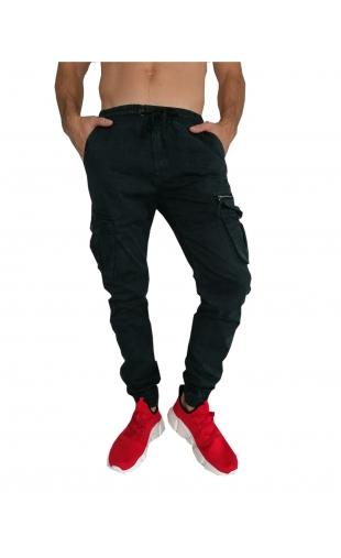 Spodnie joggery grafit T3