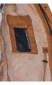 Kurtka męska miodowa zimowa parka 5621