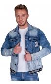 Kurtka męska jeansowa BLVCK