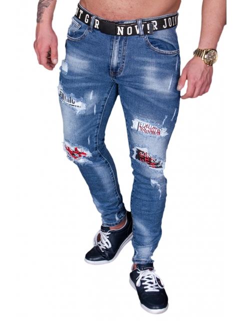 Spodnie Jeansowe męskie m.sara