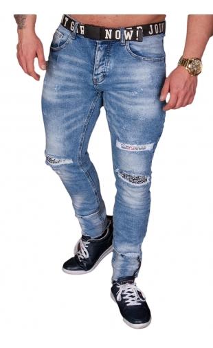 Spodnie Jeansowe męskie m.sara ka1732