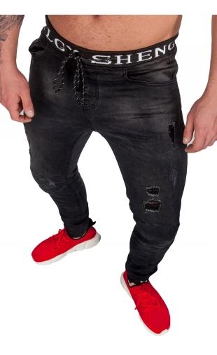 Spodnie Jogery czarne ka1131-1