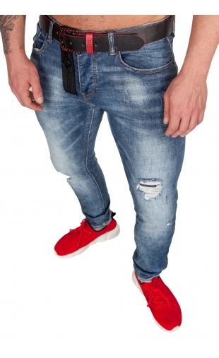 Spodnie rurki slim luke ly-9081