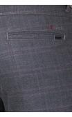 Spodnie wizytowe szare w kratę 2004