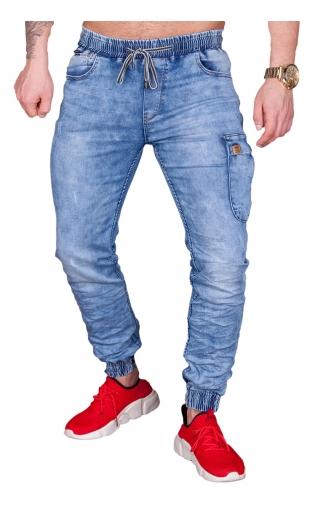 Spodnie jeansowe joggery T991