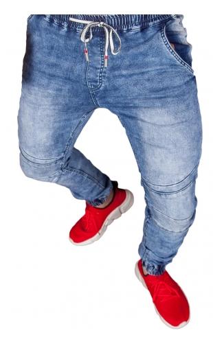 Spodnie jeansowe joggery T255
