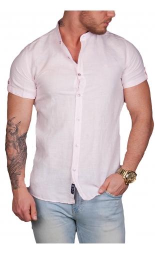 Koszula męska różowa mcl 100% naturalna