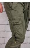 Spodnie joggery oliwkowe iteno