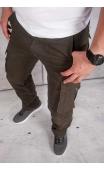 Spodnie męskie bojówki moro 2096
