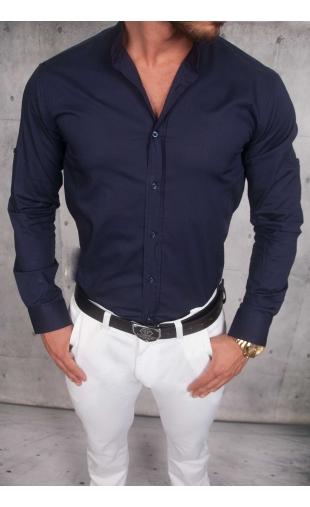 Koszula Męska Granat