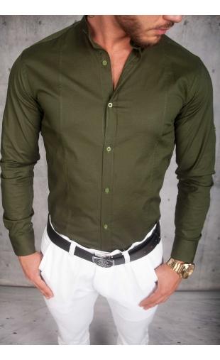 Koszula Męska oliwka
