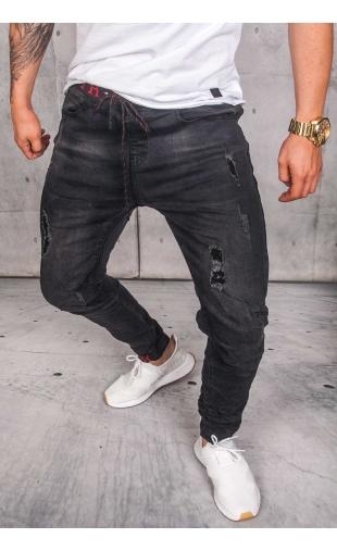 Spodnie Jogery czarne ka1131-2