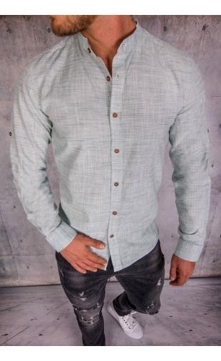 Koszula męska zielona MB-103