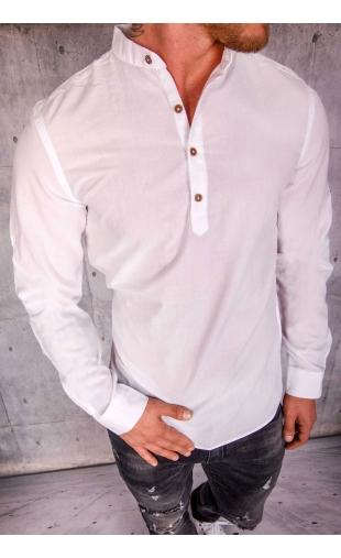 Koszula męska biała MB-106