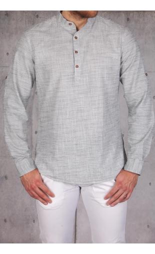 Koszula męska szara MB-110