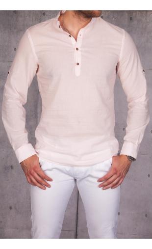 Koszula męska jasny róż MB-112