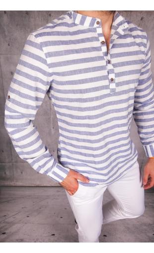 Koszula męska w paski MB-113
