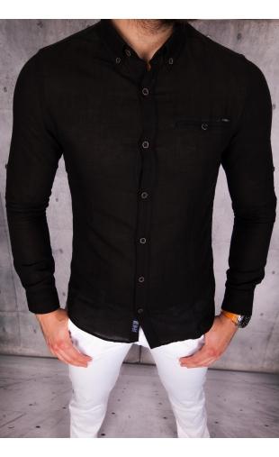 Koszula czarna MCL50 100% naturalna