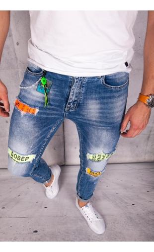Spodnie jeansowe rurki ritter R63