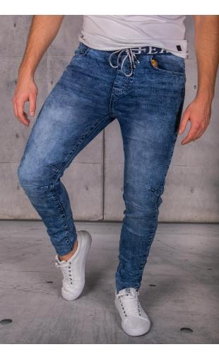 Spodnie jeansowe joggery Iteno