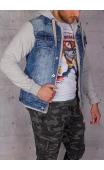 Kurtka jeansowa męska