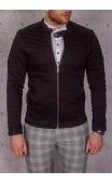 Kurtka jeansowa męska czarna BLVCK