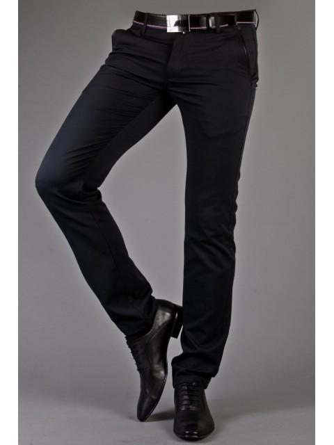 Spodnie wizytowe czarne 1710A